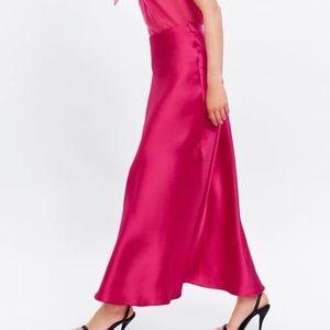 Zara Dresses - Zara shirt and skirt set - WORN ONCE